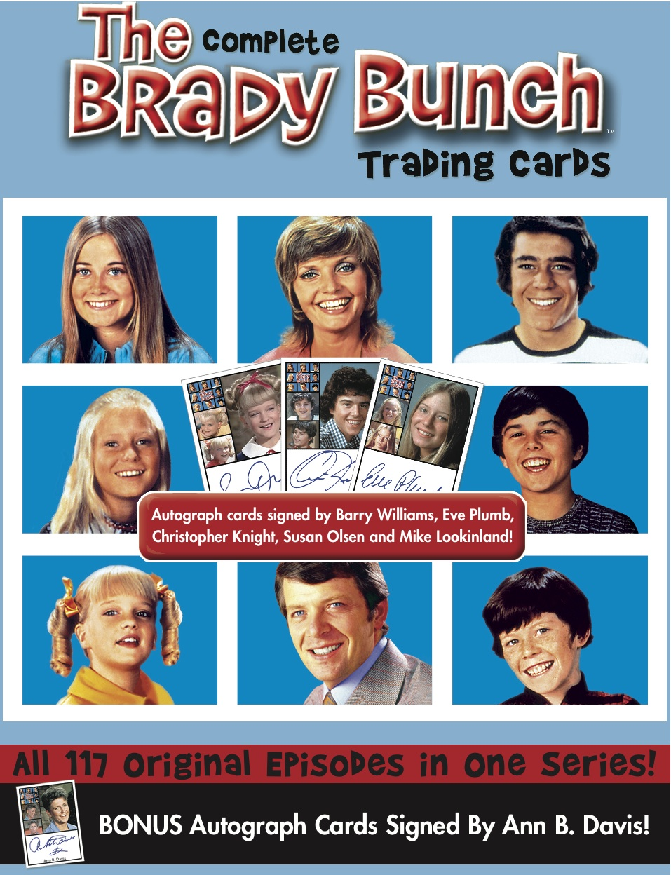 Brady Bunch Christmas Card.Awesome Of The Day Brady Bunch Trading Cards The 10