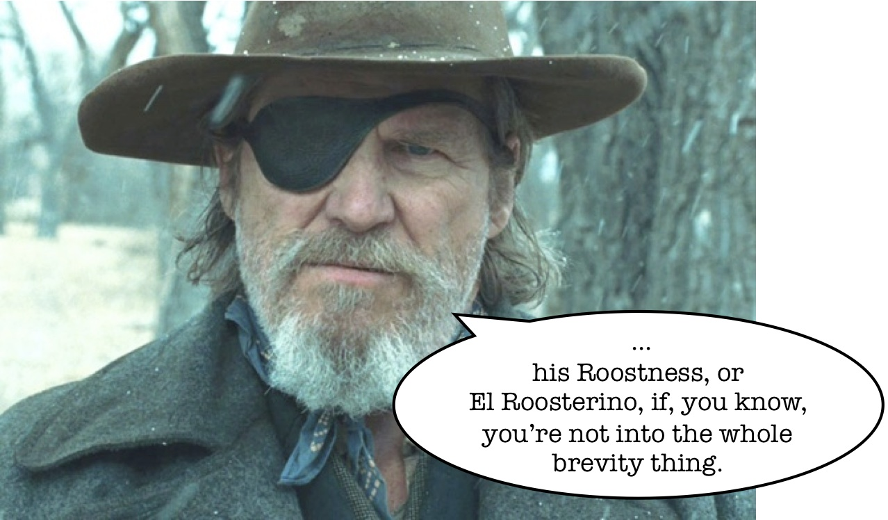 whatever happened to rooster cogburn the 10 minute ramble
